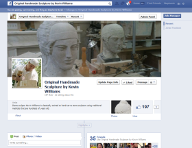 Original Handmade Sculpture by Kevin Williams Facebook Fanpage