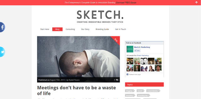 Image Sketch Marketing Blog article